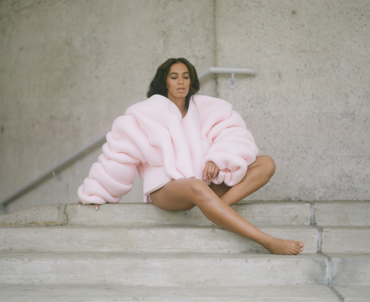 Querida Solange — A Seat at the Table album cover art.